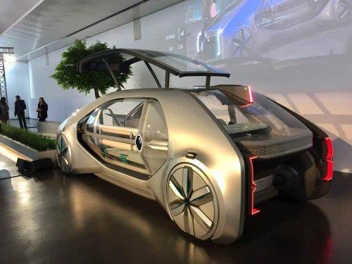 Renault EZ-GO: así nos moveremos en un futuro no muy lejano...