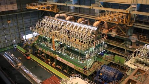 Wärtsilä RT-flex96C, así es el motor diésel más potente del mundo