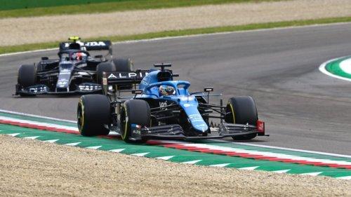 Alonso se lleva el último punto de Imola, Räikkönen sancionado