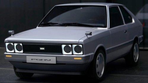 El Hyundai Pony ha vuelto convertido en un coche eléctrico