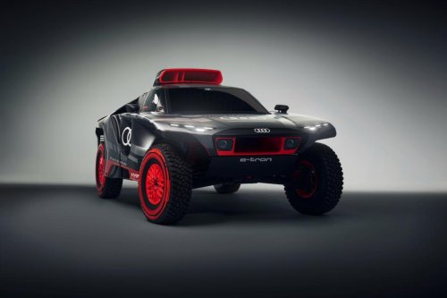 Audi RS Q e-tron: Electrificado, con Carlos Sainz... y a por el Dakar