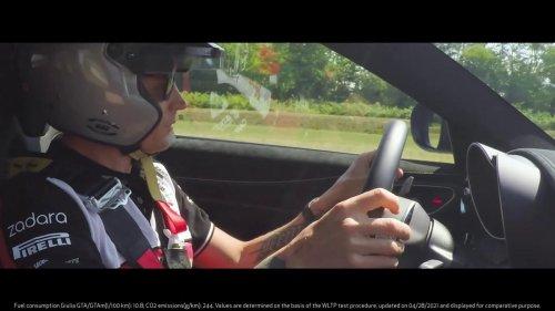VÍDEO: Kimi Räikkönen aprueba el Alfa Romeo Giulia GTA