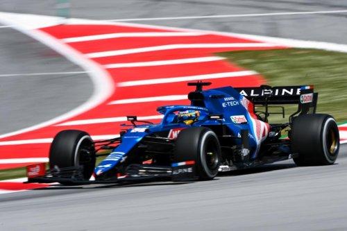 GP España 2021, Libres 2: Alonso quinto, Hamilton al frente