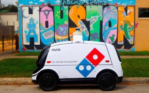 Imagina pedir una pizza y que te llegue en un coche... sin conductor