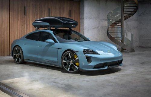 El accesorio para hacer de tu Porsche Taycan el coche perfecto para ir de viaje
