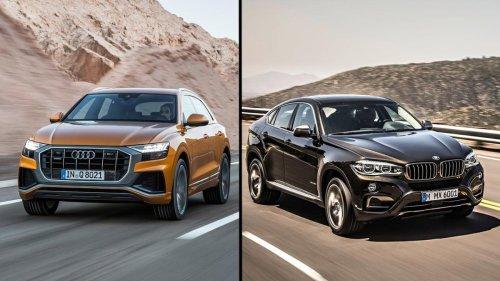 Audi Q8 o BMW X6, ¿cuál es mejor?