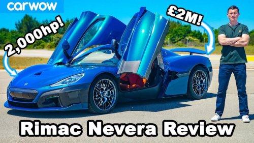 Rimac Nevera: ¿un coche para driftar?