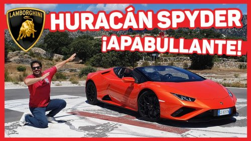 VÍDEO: Prueba a FONDO del Lamborghini Huracán EVO RWD Spyder, ¡qué sonido!