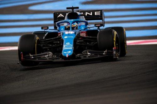 Alonso, abonado al 'top 10' en Francia y a por los puntos