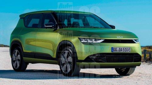 Kia EV4 2022, así será el nuevo SUV eléctrico y compacto de Kia