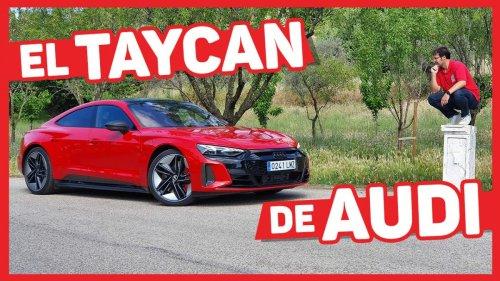 VÍDEO: Audi RS e tron GT, Prueba a FONDO con sus 646 CV y 488 km de autonomía