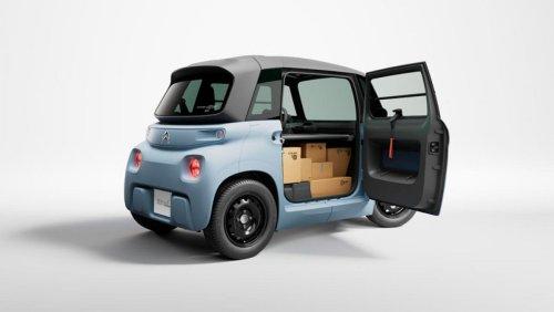 Citroën Mi Ami Cargo, el 'coche' eléctrico que todos los repartidores de Amazon querrán tener
