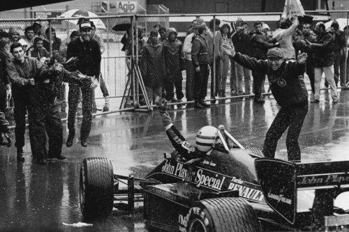 Una foto, una historia: Portugal 1985, la primera de Senna