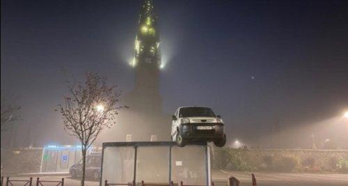 Peugeot Partner sur un abribus : le mode opératoire dévoilé, le coupable enfin identifié