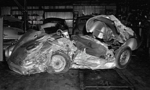 "James Dean's ""Cursed"" Porsche 550 Spyder Transaxle Goes to Vegas Haunted Museum"
