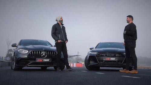 2021 Mercedes-AMG E 63 S Sedan Drag Races Audi RS 6 Avant, German Muscle Wins
