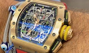 $500K Richard Mille 11-03 Flyback Chronograph Heist Is a Sign of Our Times