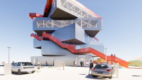 Stacked Boxes With a Sea View: The New Rotterdam Harbour Experience Centre