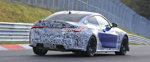 Featherweight BMW M4 CSL Prototype Hits the Nurburgring
