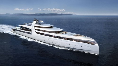 Admiral X Force 145 Is the $1 Billion Megayacht All Others Dream Of
