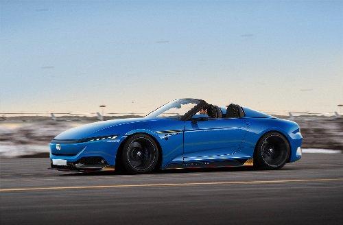2024 Honda S2000 Successor Imagined With Porsche 911 Speedster Design Motifs