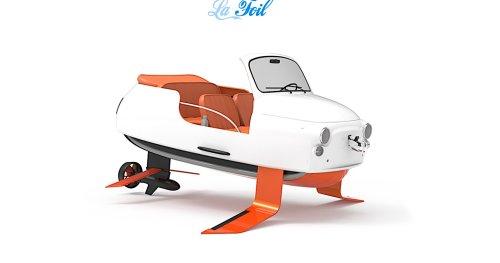 Fiat 500 Hydrofoil Needs No License to Drive, Looks Like a Mutant Mini Car for the Water