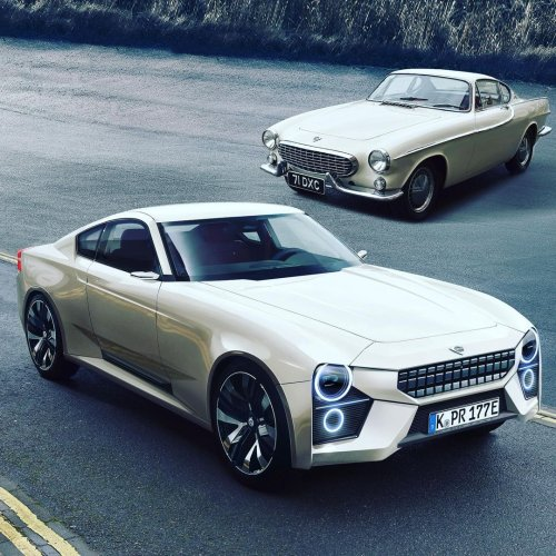 Iconic P1800 Gets Virtually Sustainable Makeover to Lure Both Volvo and Polestar
