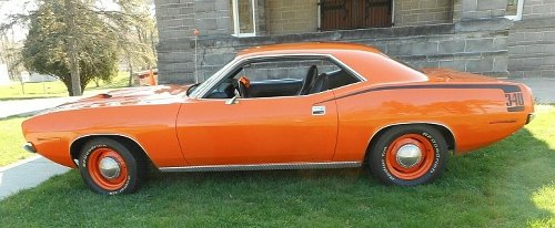 Low-Mileage 1970 Plymouth Cuda Is a Numbers-Matching Shot of Vitamic C