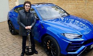 Black Sabbath Legend Tony Iommi Finally Treats Himself to a Lamborghini Urus