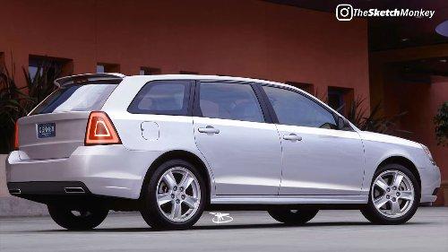 Obscure 2004 Chevrolet Malibu Maxx Gets Modern Redesign, Still Looks Weird