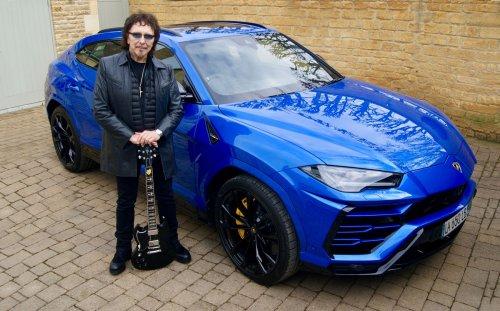 "Tony Iommi Bought a Lamborghini Urus & He Went ""Mad On Blue"""