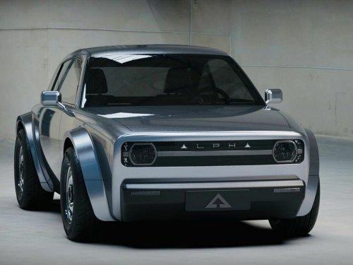Alpha Ace (2023) : le coupé électrique au look rétro