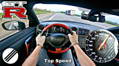 Vidéo : à plus de 330 km/h en Nissan GT-R !