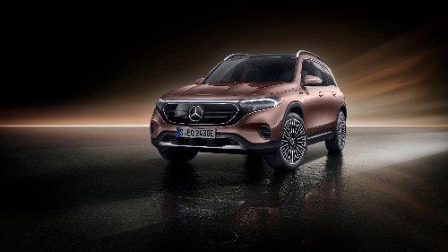 Mercedes EQB (2021) : voici le GLB électrique ! - Autoplus