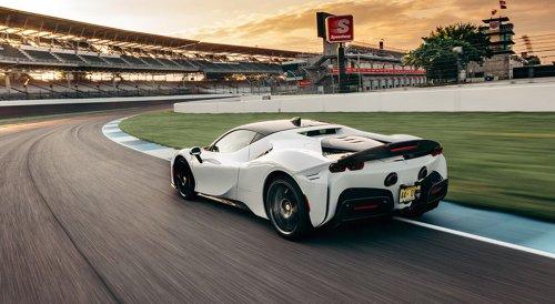 Ferrari SF90 Stradale : nouveau record sur le circuit d'Indianapolis