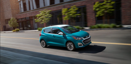 Inside the 2021 Chevy Spark