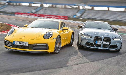 M4 Competition/911 Carrera S: Vergleichstest | autozeitung.de
