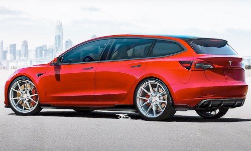 Tesla Model 3 Kombi: Video   autozeitung.de