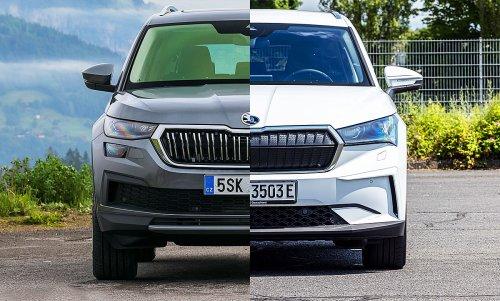 Skoda Kodiaq/Skoda Enyaq iV: Vergleich | autozeitung.de