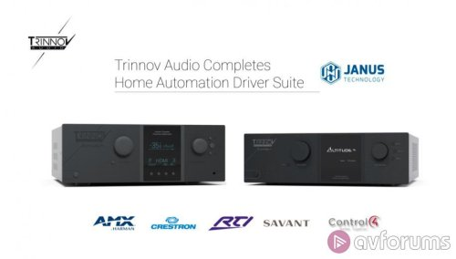 Trinnov Audio announces Crestron Home driver