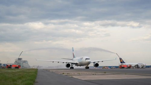 Frankfurt: Eurowings Discover zum Erstflug abgehoben
