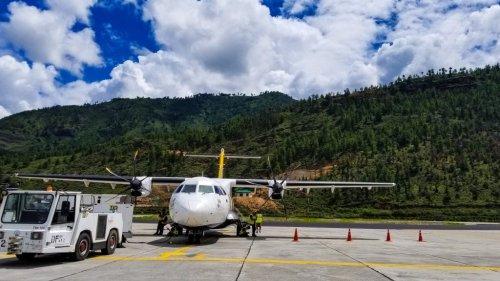 Paro Airport to Thimphu