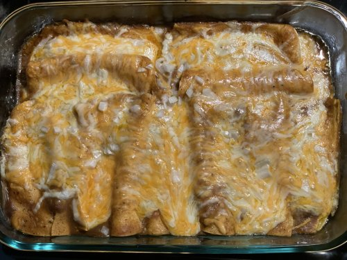 Cheese Enchilada Recipe using Taco Uppercut