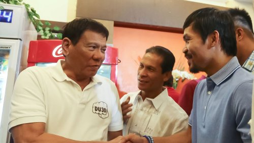 Presidential speculation grows around boxer Manny Pacquiao