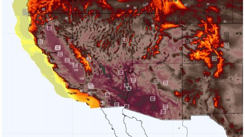 Heat wave enveloping West will shatter records, spark wildfires