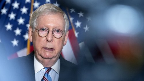 """McConnell says he's """"100%"""" focused on stopping Biden administration"""