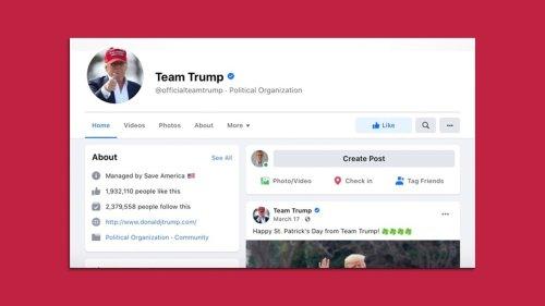 Team Trump's Facebook ads circumvent ban