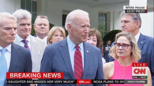 Biden strikes infrastructure deal with bipartisan group of senators