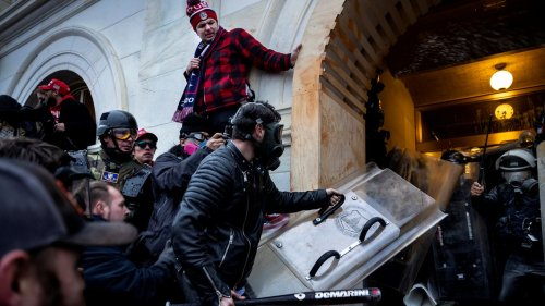 Navy contractor arrested in Capitol riot was a known white supremacist