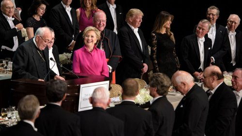 Politics and influence at the 2016 Al Smith dinner